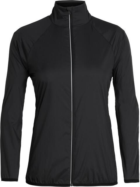 Icebreaker Rush Windbreaker Jacket Women black